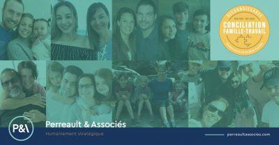 Sceau de reconnaissance conciliation famille-travail